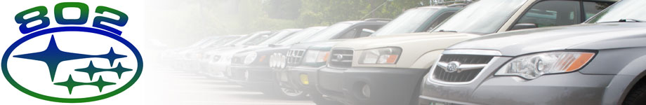 802Subaru Rotating Header Image